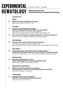 Experimental Hematology