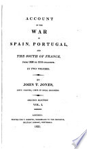 Account of the War in Spain, Portugal, and the South of France