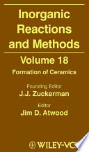 Inorganic Reactions and Methods  Formation of Ceramics