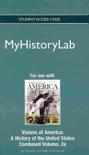 Visions of America MyHistoryLab Access Code Book PDF