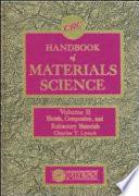 CRC Handbook of Materials Science