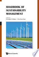 Handbook of Sustainability Management Book