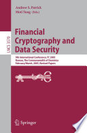 Financial Cryptography And Data Security
