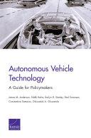 Autonomous Vehicle Technology [Pdf/ePub] eBook