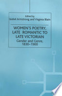 Women   s Poetry  Late Romantic to Late Victorian