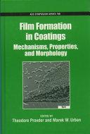 Film Formation in Coatings