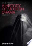 A History of Modern Drama Pdf/ePub eBook