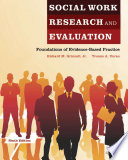 Social Work Research And Evaluation