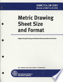 Metric Drawing Sheet Size and Format 2005