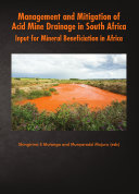 Management and Mitigation of Acid Mine Drainage in South Africa