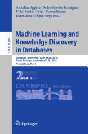 Machine Learning and Knowledge Discovery in Databases Pdf/ePub eBook