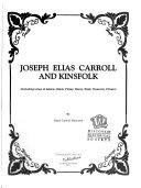 Joseph Elias Carroll And Kinsfolk
