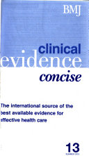 Clinical Evidence Concise