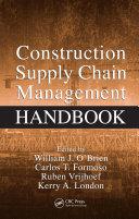 Pdf Construction Supply Chain Management Handbook Telecharger