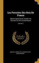 Les Favorites Des Rois de France