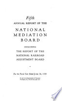 Annual Report of the National Mediation Board