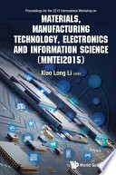Materials  Manufacturing Technology  Electronics and Information Science