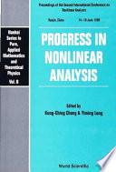 Progress in Nonlinear Analysis