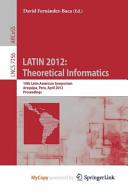 LATIN 2012  Theoretical Informatics Book