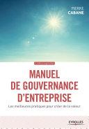Pdf Manuel de gouvernance d'entreprise Telecharger