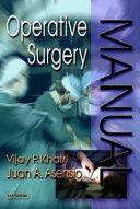 Operative Surgery Manual