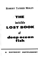 The Invisible Lost Book of Deep Ocean Fish