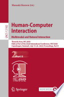 Human Computer Interaction  Multimodal and Natural Interaction