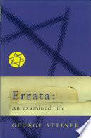 Errata  An Examined Life