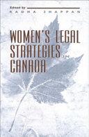 Women s Legal Strategies in Canada