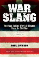 War Slang [Pdf/ePub] eBook