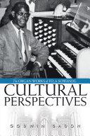 The Organ Works of Fela Sowande  Cultural Perspectives