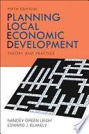 Planning Local Economic Development