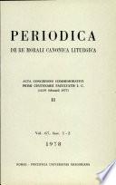 Acta Congressus internationalis iuris canonici