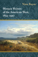 Women Writers of the American West  1833 1927