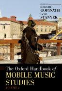 The Oxford Handbook of Mobile Music Studies Pdf/ePub eBook