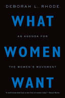 What Women Want: An Agenda for the Women's Movement - Seite 163