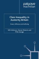 Class Inequality in Austerity Britain Pdf/ePub eBook
