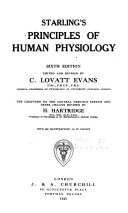 Starling s Principles of Human Physiology