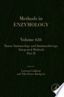 Tumor Immunology and Immunotherapy - Integrated Methods Part B
