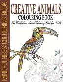 Creative Animals Colouring Book