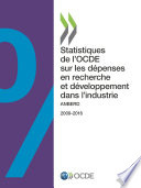 Statistiques de l'OCDE sur les dépenses en recherche et développement dans l'industrie 2018 ANBERD