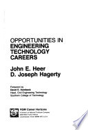 Opportunities in engineering technology careers