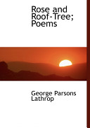 George Parsons Lathrop Books, George Parsons Lathrop poetry book
