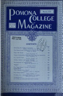 Pomona College Magazine