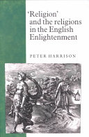 Religion  and the Religions in the English Enlightenment