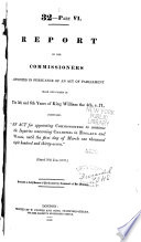 Report of the Commissioners Appointed in Pursuance of an Act of Parliament Made and Passed in the 5th and 6th Years of King William the 4th, C.71, Intituled, An Act for Appointing Commissioners to Continue the Inquiries Concerning Charities in England and Wales, Until the First Day of March [1837] Pdf/ePub eBook