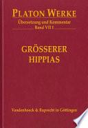 Cover image of Größerer Hippias