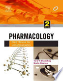 Pharmacology  : Prep Manual for Undergraduates