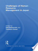 Challenges of Human Resource Management in Japan