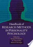 Handbook Of Research Methods In Personality Psychology Book PDF